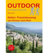 Weitwandern Outdoor Handbuch 186, Italien: Franziskusweg Conrad Stein Verlag