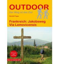 Weitwandern Outdoor-Handbuch 166, Frankreich: Jakobsweg Via Lemovicensis Conrad Stein Verlag