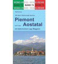 Campingführer Mit dem Wohnmobil durchs Piemont und das Aostatal Womo-Verlag