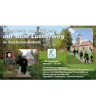 Wanderführer Wandern und Pilgern auf dem Lutherweg in Sachsen-Anhalt KKV