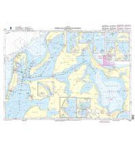 BSH Seekarte Nr. 1621, Nördliche Rügensche Bodden 1:30.000 Bundesamt für Seeschiffahrt und Hydrographie