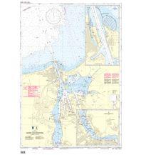 BSH Seekarte Nr. 1672 (INT. 1355), Hafen von Rostock 1:12.500 Bundesamt für Seeschiffahrt und Hydrographie