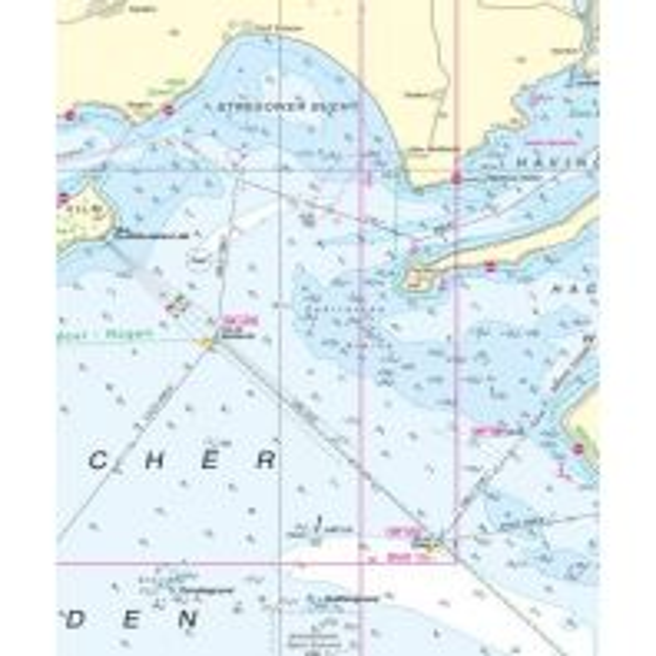 BSH Seekarte Nr. 162 (INT. 1342), Gewässer zwischen Rügen und Møn 1:100.000 Bundesamt für Seeschiffahrt und Hydrographie
