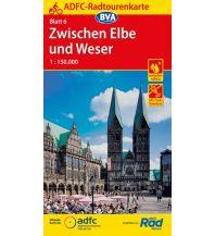 Radkarten ADFC-Radtourenkarte 6, Zwischen Elbe und Weser 1:150.000 Bielefelder Verlagsanstalt GmbH & Co KG