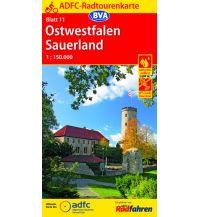 Radkarten ADFC-Radtourenkarte 11, Ostwestfalen, Sauerland 1:150.000 Bielefelder Verlagsanstalt GmbH & Co KG