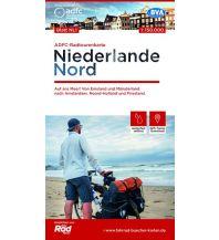 Radkarten ADFC-Radtourenkarte NL 1 Niederlande Nord, 1:150.000 Bielefelder Verlagsanstalt GmbH & Co KG