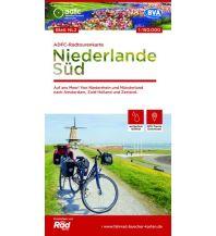 Radkarten ADFC-Radtourenkarte NL 2 Niederlande Süd, 1:150.000 Bielefelder Verlagsanstalt GmbH & Co KG