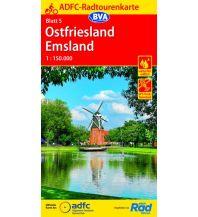 Radkarten ADFC-Radtourenkarte 5, Ostfriesland, Emsland 1:150.000 Bielefelder Verlagsanstalt GmbH & Co KG
