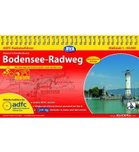 Radführer ADFC-Radreiseführer Bodensee-Radweg 1:50.000 Bielefelder Verlagsanstalt GmbH & Co KG