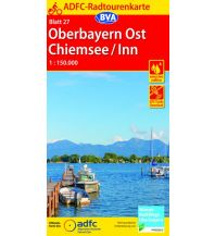 Radkarten ADFC-Radtourenkarte 27, Oberbayern Ost, Chiemsee, Inn 1:150.000 Bielefelder Verlagsanstalt GmbH & Co KG
