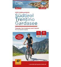 Radkarten ADFC-Radtourenkarte 28, Südtirol, Trentino, Gardasee 1:150.000 Bielefelder Verlagsanstalt GmbH & Co KG