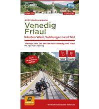 Radkarten ADFC-Radtourenkarte 29, Venedig, Friaul, Kärnten West, Salzburger Land Süd 150.000 Bielefelder Verlagsanstalt GmbH & Co KG