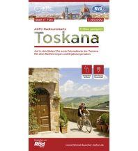 Radkarten ADFC-Radtourenkarte IT-TOS, Toskana 1:150.000 Bielefelder Verlagsanstalt GmbH & Co KG