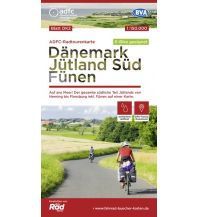 Radkarten ADFC-Radtourenkarte Dänemark DK2, Jütland Süd, Fünen 1:150.000 Bielefelder Verlagsanstalt GmbH & Co KG