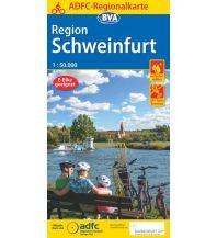 Radkarten ADFC-Regionalkarte Schweinfurt, 1:50.000, reiß- und wetterfest, GPS-Tracks Download Bielefelder Verlagsanstalt GmbH & Co KG