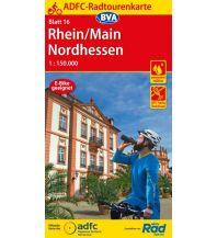 ADFC Radtourenkarte 16, Rhein, Main, Nordhessen 1:150.000 Bielefelder Verlagsanstalt GmbH & Co KG