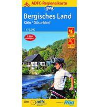 Radkarten ADFC-Regionalkarte Bergisches Land Köln/Düsseldorf 1:75.000, reiß- und wetterfest, GPS-Tracks Download Bielefelder Verlagsanstalt GmbH & Co KG