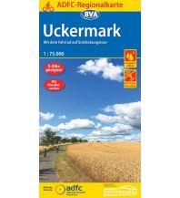 Radkarten ADFC-Regionalkarte Uckermark 1:75.000 Bielefelder Verlagsanstalt GmbH & Co KG