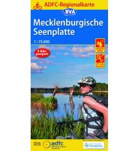 Radkarten ADFC-Regionalkarte Mecklenburgische Seenplatte 1:75.000 Bielefelder Verlagsanstalt GmbH & Co KG