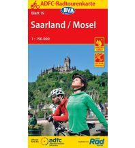 ADFC-Radtourenkarte 19, Saarland, Mosel 1:150.000 Bielefelder Verlagsanstalt GmbH & Co KG