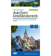 ADFC-Regionalkarte Aachen /Dreiländereck, 1:75.000, reiß- und wetterfest, GPS-Tracks Download Bielefelder Verlagsanstalt GmbH & Co KG