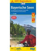 ADFC-Regionalkarte Bayerische Seen, 1:75.000, reiß- und wetterfest, GPS-Tracks Download Bielefelder Verlagsanstalt GmbH & Co KG