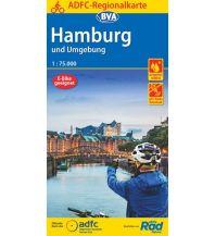 ADFC-Regionalkarte Hamburg und Umgebung 1:75.000 Bielefelder Verlagsanstalt GmbH & Co KG