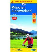 ADFC-Regionalkarte München, Alpenvorland 1:75.000 Bielefelder Verlagsanstalt GmbH & Co KG