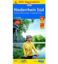ADFC-Regionalkarte Niederrhein Süd 1:75.000 Bielefelder Verlagsanstalt GmbH & Co KG