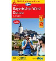 ADFC-Radtourenkarte 23, Bayerischer Wald, Donau 1:150.000 Bielefelder Verlagsanstalt GmbH & Co KG