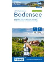 ADFC-Regionalkarte Bodensee 1:50.000 Bielefelder Verlagsanstalt GmbH & Co KG