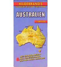Straßenkarten Australien - Ozeanien Australien. Australia. Australie Hildebrand Kartographie