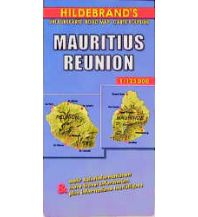 Straßenkarten Mauritius, Reunion. Maurice, La Reunion Hildebrand Kartographie