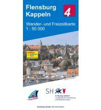 Wander- und Freizeitkarte 4, Flensburg, Kappeln 1:50.000 Landesvermessungsamt Schleswig-Holstein