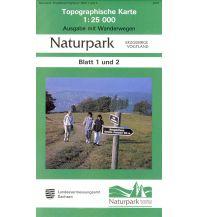 1/2 Topographische Karte Sachsen - Naturpark Erzgebirge / Vogtland 1:25.000 Landesamtvermessungsamt Sachsen