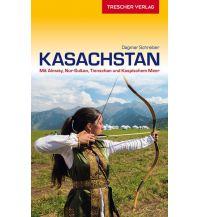 Reiseführer Reiseführer Kasachstan Trescher Verlag