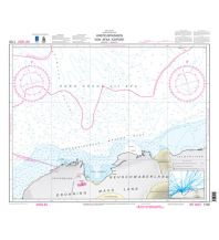 BSH Nr. 1702 Seekarte (INT. 9057) - Ansteuerungen von Atka Iceport 1:300.000 Bundesamt für Seeschiffahrt und Hydrographie