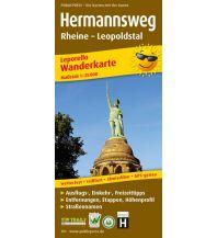 f&b Wanderkarten Hermannsweg 1:25.000 Freytag-Berndt und ARTARIA