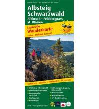 f&b Wanderkarten Albsteig, Schwarzwald, Albbruck - Feldbergpass, St. Blasien Freytag-Berndt und ARTARIA