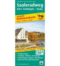 f&b Wanderkarten Saalerradweg 1:50.000 Freytag-Berndt und ARTARIA