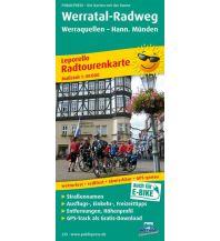 f&b Wanderkarten Werratal-Radweg 1:50.000 Freytag-Berndt und ARTARIA