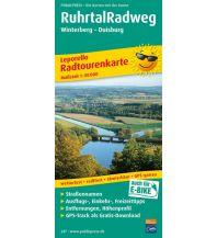 f&b Wanderkarten Ruhrtal-Radweg 1:50.000 Freytag-Berndt und ARTARIA
