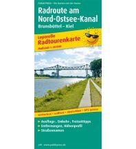 f&b Wanderkarten Radroute am Nord-Ostsee-Kanal 1:50.000 Freytag-Berndt und ARTARIA
