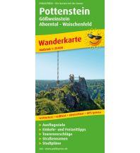 f&b Wanderkarten Pottenstein, Gößweinstein - Ahorntal - Waischenfeld Freytag-Berndt und ARTARIA