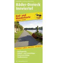 f&b Wanderkarten PublicPress Rad- und Wanderkarte Bäder-Dreieck, Innviertel Freytag-Berndt und ARTARIA