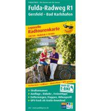 f&b Wanderkarten Fulda-Radweg R1 1:50.000 Freytag-Berndt und ARTARIA
