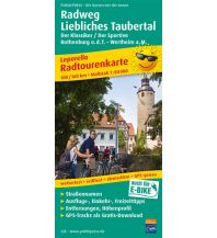 f&b Wanderkarten Radweg Liebliches Taubertal,Rothenburg o.d.T. - Wertheim a. M. Freytag-Berndt und ARTARIA
