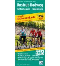 f&b Wanderkarten Unstrut-Radweg 1:50.000 Freytag-Berndt und ARTARIA