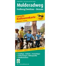 f&b Wanderkarten Mulderadweg 1:50.000 Freytag-Berndt und ARTARIA