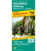 f&b Wanderkarten Altmühltal-Rawdweg 1:50.000 Freytag-Berndt und ARTARIA